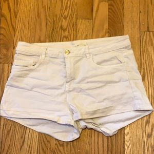 White H&M Shorts